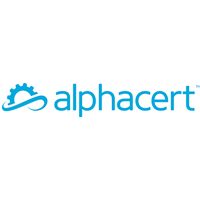 Alpha Cert logo