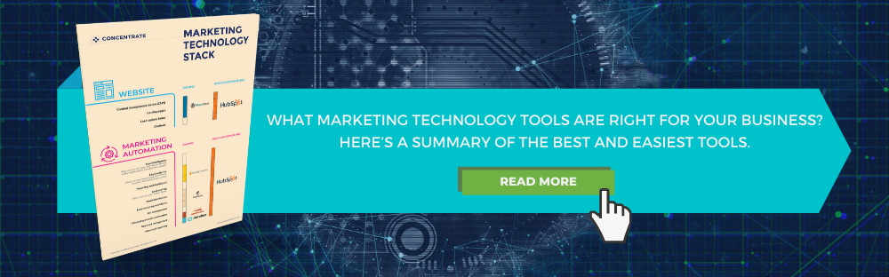 Marketing technology tools to support B2B lead generation