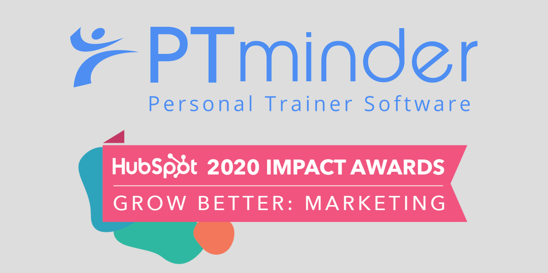 Concentrate & PTminder HubSpot Impact Award - Grow Better Marketing 2020