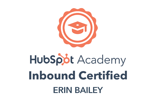 Erins Inbound Certification