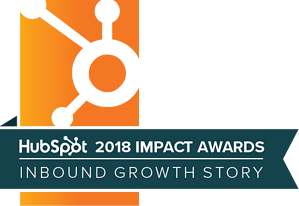 HubSpot Impact Awards - Inbound Growth Story 2018