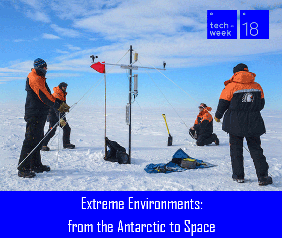 Extreme environments: from Antarctica to space