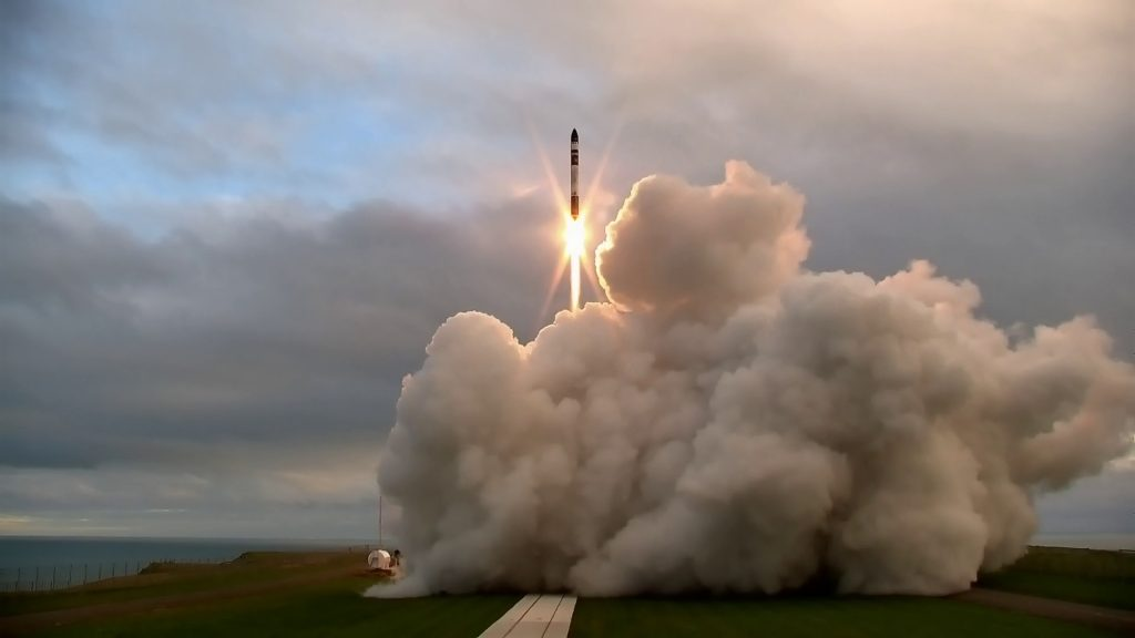 Rocket Lab - Electron 'It's a Test' lift off