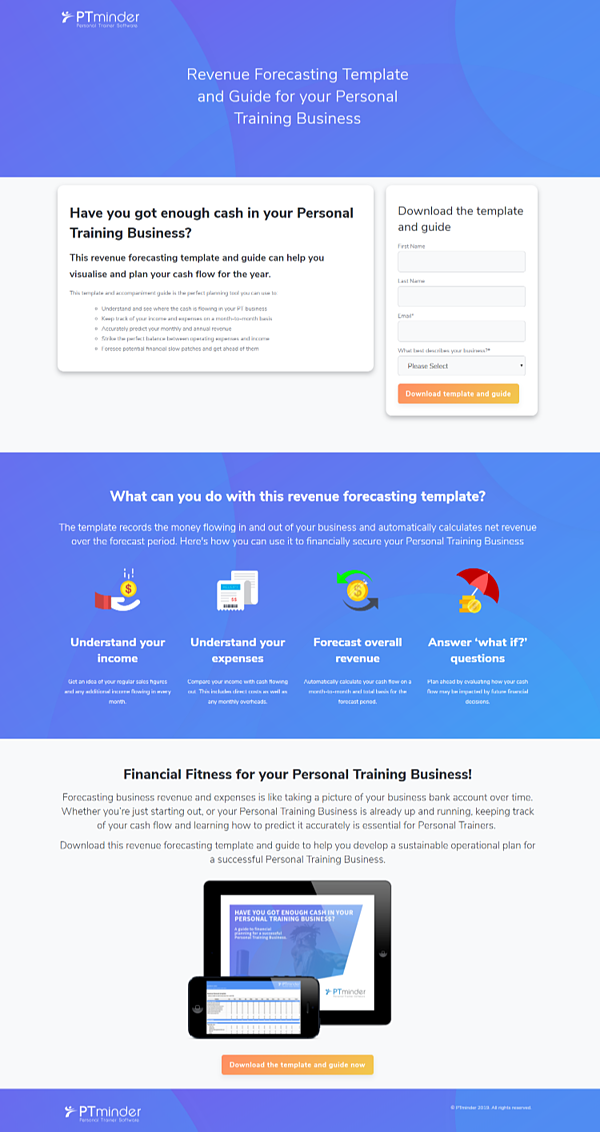 Landing Page - PTminder results-1