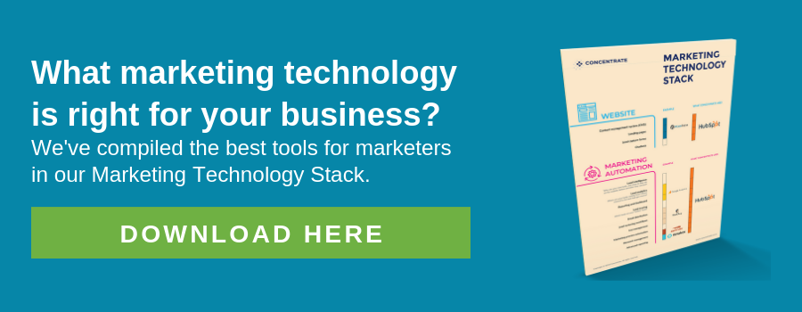 Marketing Tech Stack CTA banner #2
