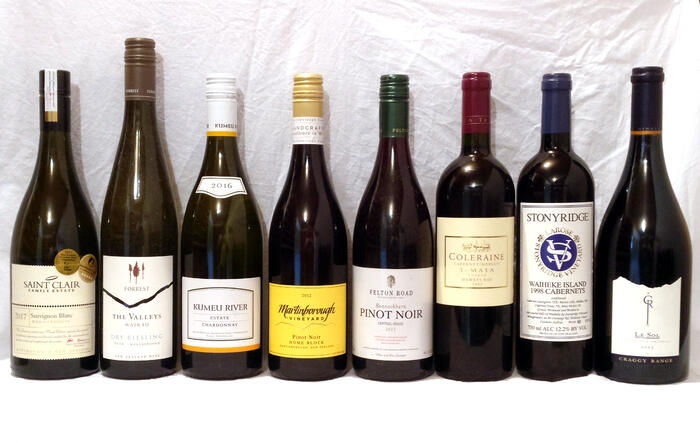 New_Zealand_wines_-_a_selection