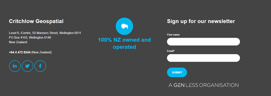 Increase leads with newsletter sign up form