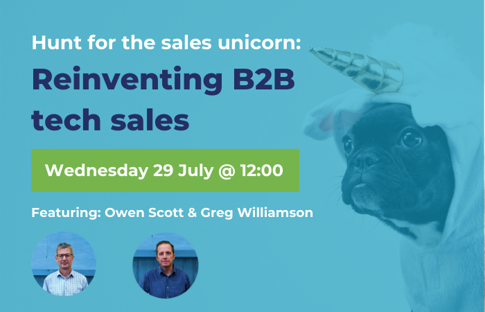 Techweek - Hunt for the sales unicorn