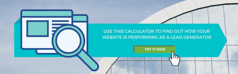 web performance calculator banner