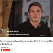 The two biggest advantages we (AuCom) have gotten out of HubSpot