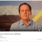 Three ways to improve your marketing