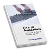 Fix Your Foundations