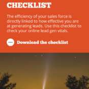 Lead Generation Checklist