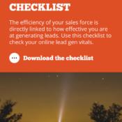 Lead Generation Checklist
