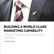 Building a world class marketing capability