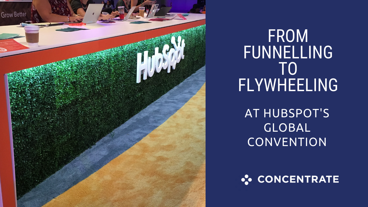 From funnelling to flywheeling at HubSpot's global convention